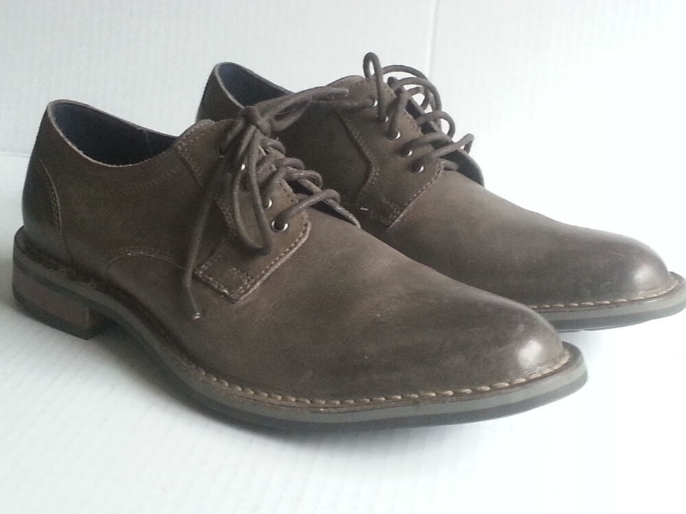 cole haan dress shoes size 8 5 m gray leather nike air