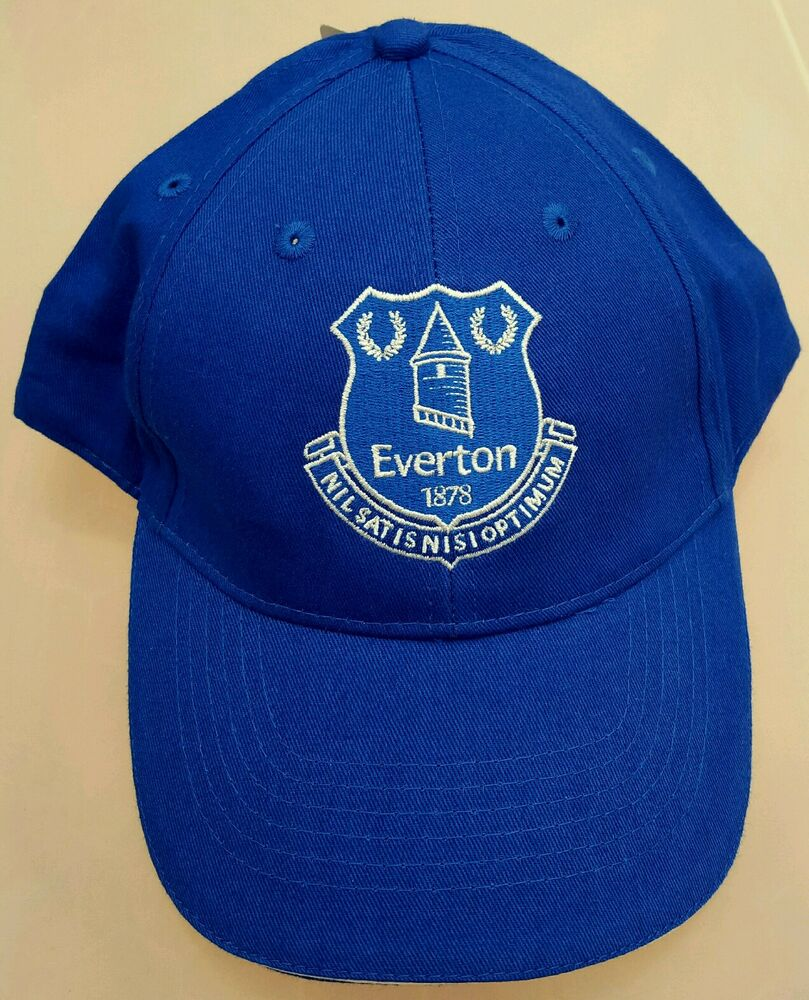 53fb3fc5eb568 Details about Official Everton Adults Royal and White crested Baseball Cap  - Great Gift Idea