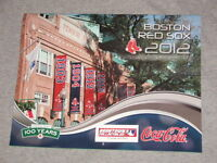 2012 Boston Red Sox Calendar Fenway Park 100th 100 Years Anniversary FREESHIP