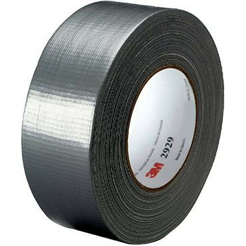 3m 2929 utility duct tape x 50 yards silver duct. Black Bedroom Furniture Sets. Home Design Ideas