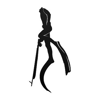 Freedive Spearfishing Sticker Diving Decal Spear Fishing