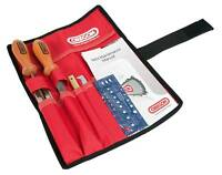 """OREGON CHAINSAW FILING / CHAIN SHARPENING KIT with POUCH 5/32"""" 4mm low profile"""