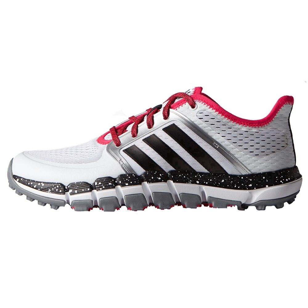 Adidas climachill tour spikeless men 39 s golf shoes rare for Classic house golf shoes
