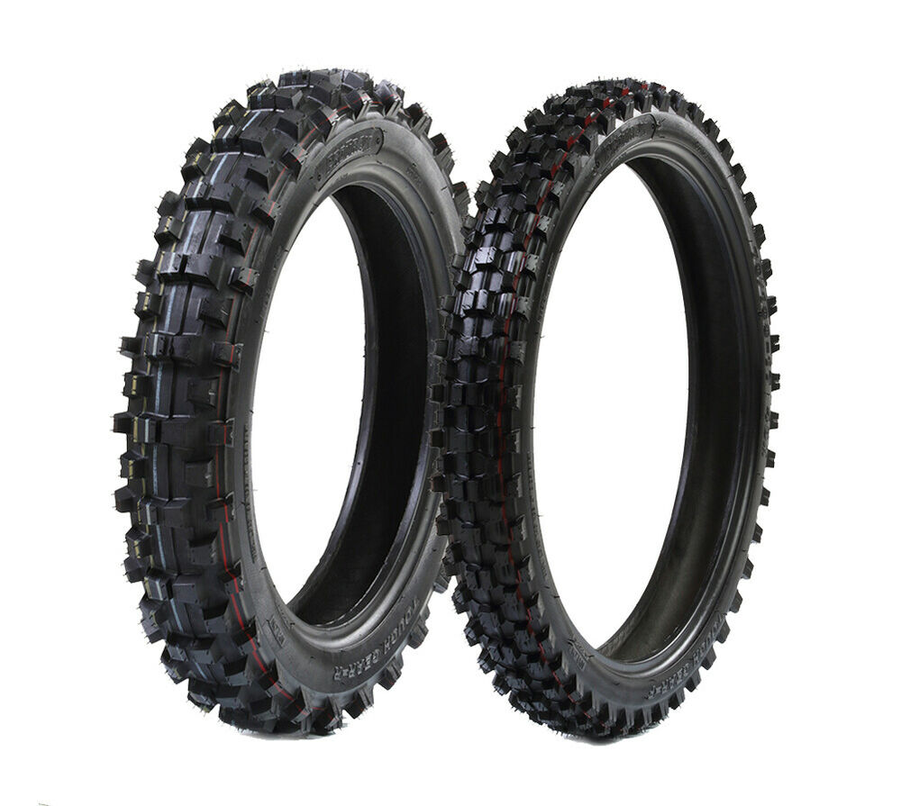 protrax offroad front 70 100 19 inch rear 90 100 16 inch tire combo ebay. Black Bedroom Furniture Sets. Home Design Ideas