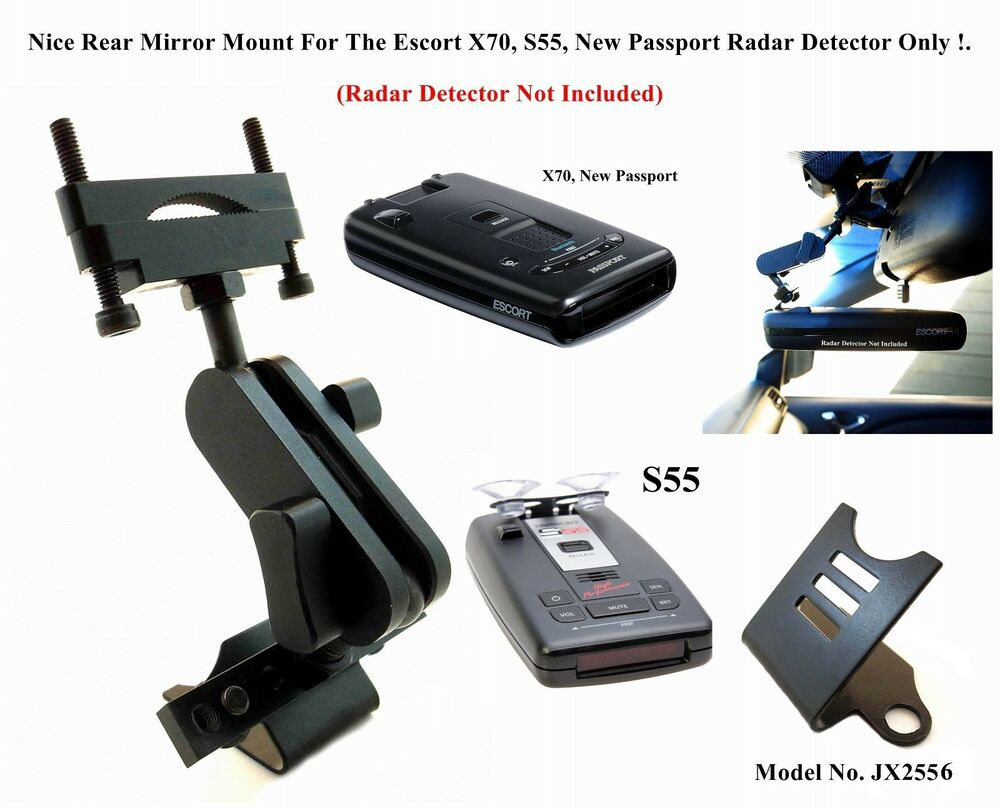 Car Mount For The Rear Mirror Escort X70, S55, RX65 New ...