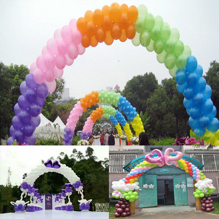 1 set wedding birthday party upright balloon arches base for Balloon arch decoration kit