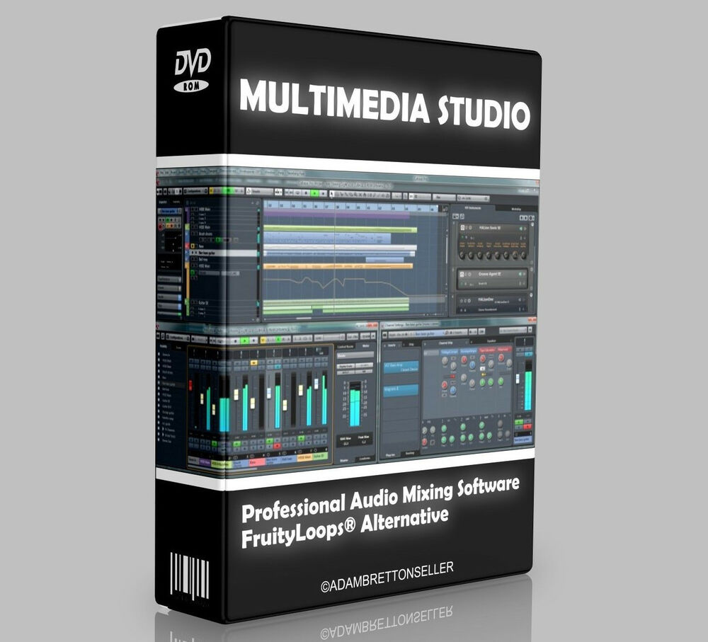 Music Production Studio Software - Multi Track Editing