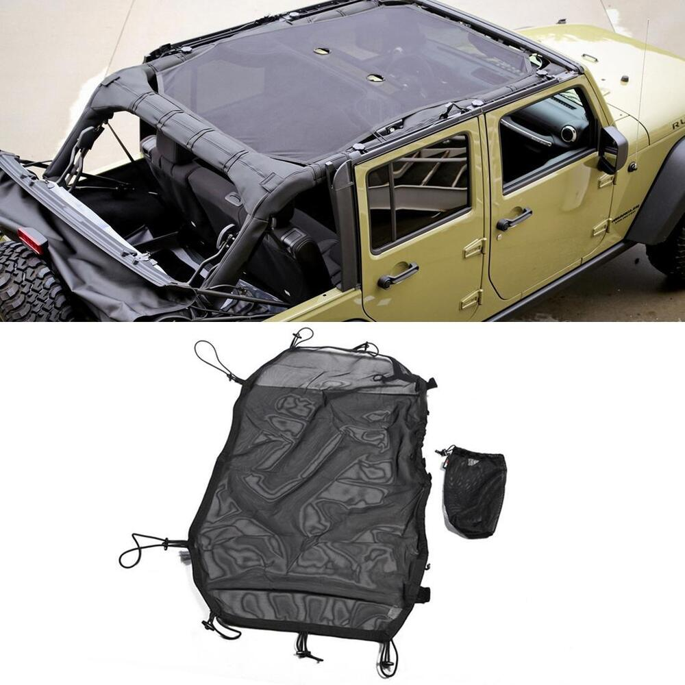black eclipse sun shade for jeep wrangler jk sahara sport. Black Bedroom Furniture Sets. Home Design Ideas