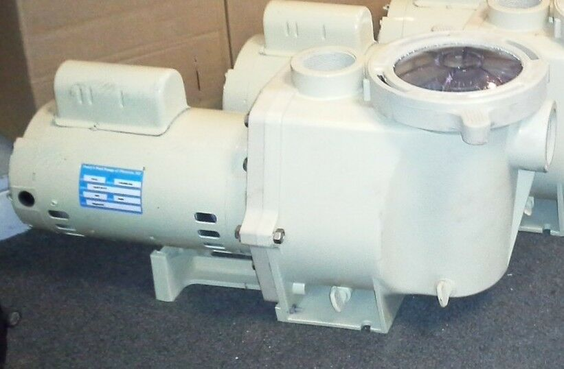 Whisperflo pool pump 1 5 hp wfe 6 011514 ebay for Pentair pool pump motor