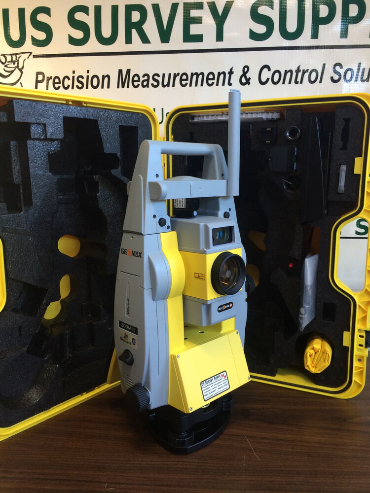 geomax 5 zoom90 robotic total station 1 man syst brand new w wnty support ebay. Black Bedroom Furniture Sets. Home Design Ideas