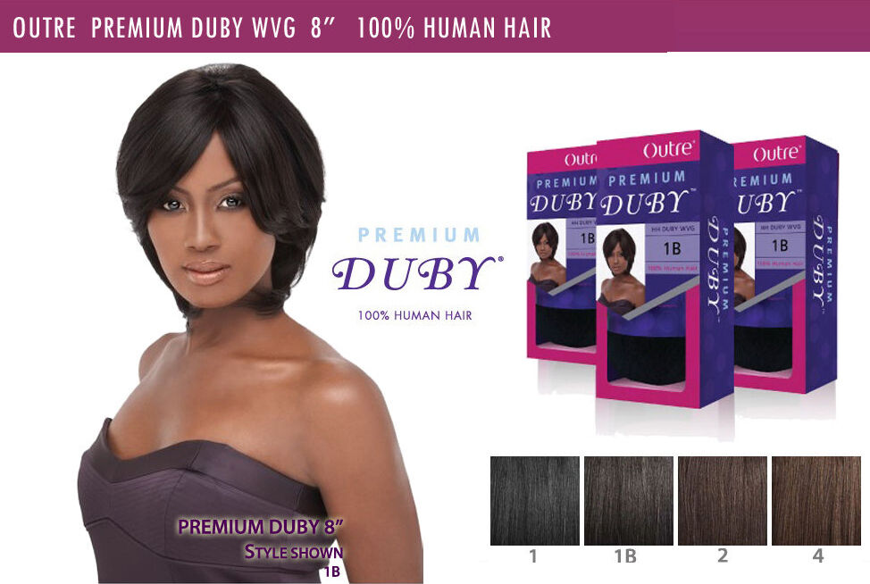 Outre Premium Duby 100 Human Hair Weave Extension Pre Bump Style 8
