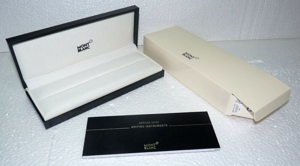 Montblanc Meisterstuck Starwalker Pen Display Box Open