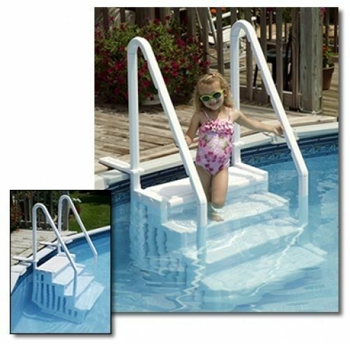 Blue Wave Easy Pool Step For Above Ground Swimming Pools Ebay