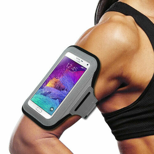 Samsung J7 Sports Band Arm Holster Running Workout Gear ...