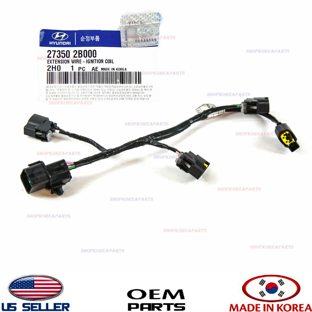 Ignition Coil Wire Harness Genuine    Veloster Kia Soul