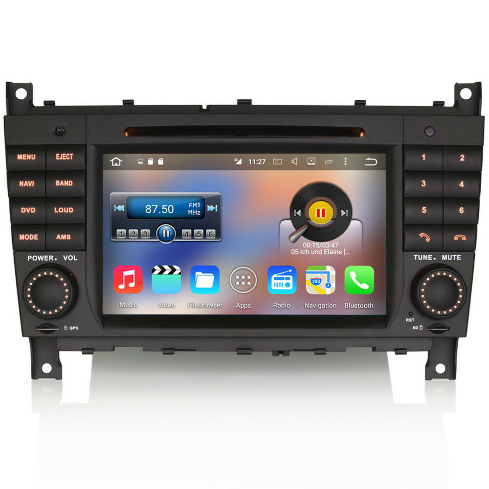 7 car android 6 wifi gps sat nav dvd stereo dab radio for. Black Bedroom Furniture Sets. Home Design Ideas