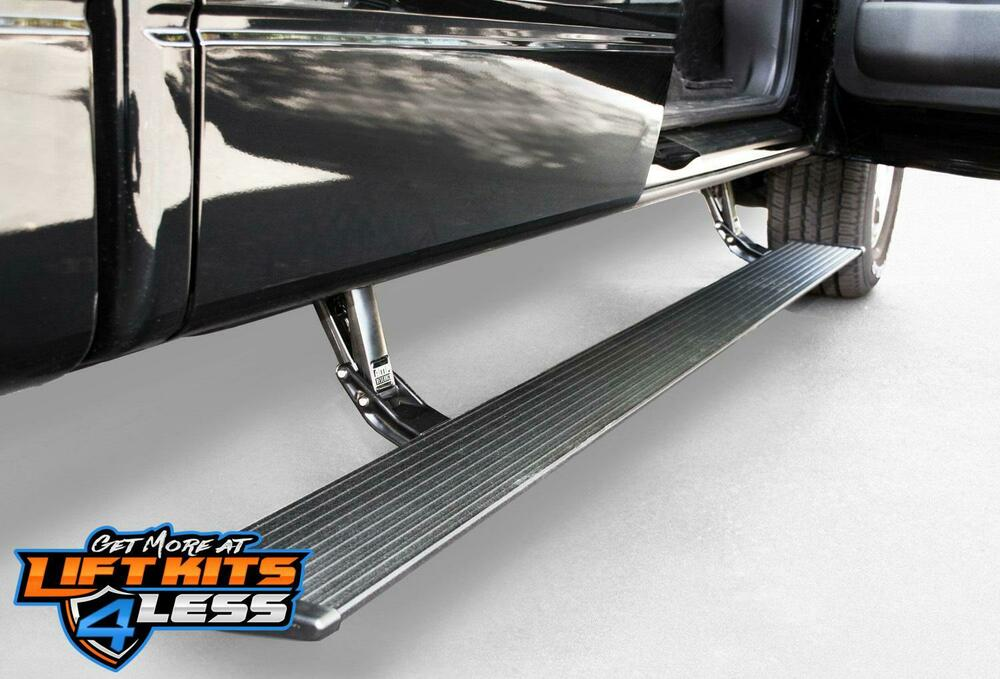 2009-2014 Ford F150 Amp-Research Power Step Side Running Boards Plug and Play | eBay