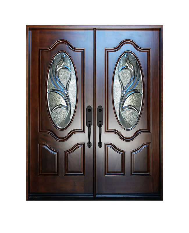 Double Exterior Front Entry Wood Door M800G 30 X80 X2 Right Hand Sw