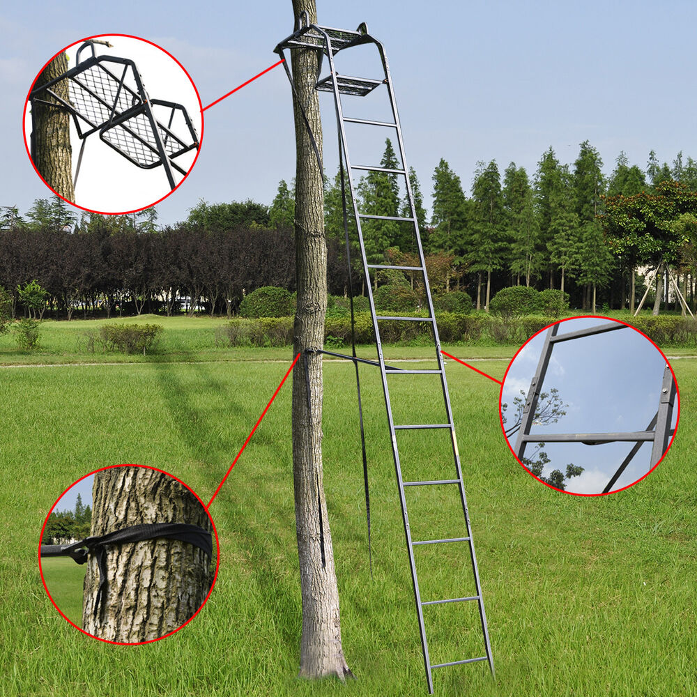 15 Deluxe Hunting Ladder Stand Tree Stand Safety Harness