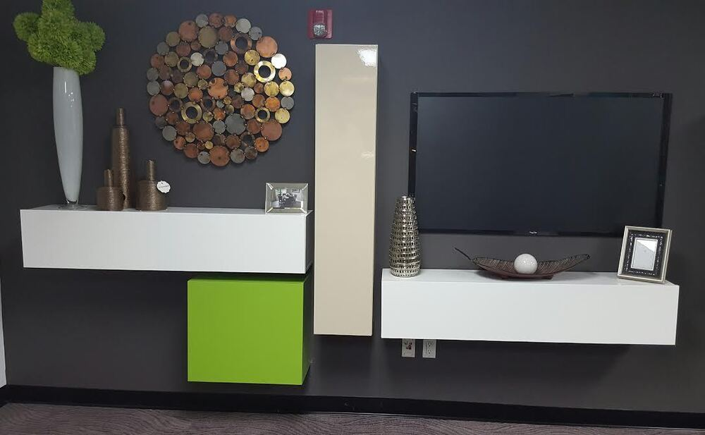 Italian Modern Contemporary Floating Wall Unit