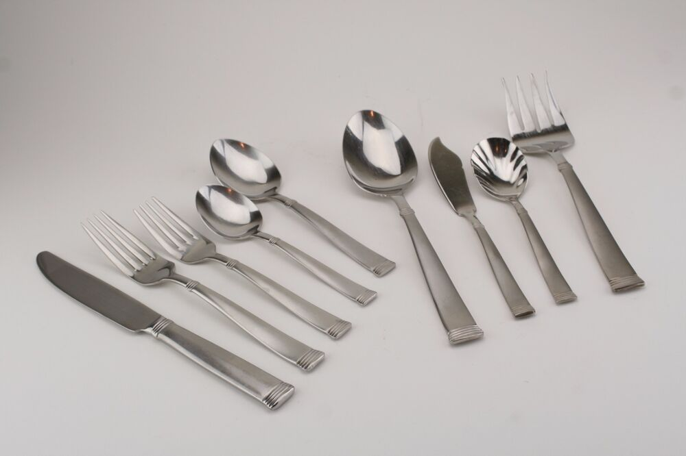 Wallace Napoli Frost 18 10 Stainless Flatware Choice Popular Wallace Stainless Steel Flatware