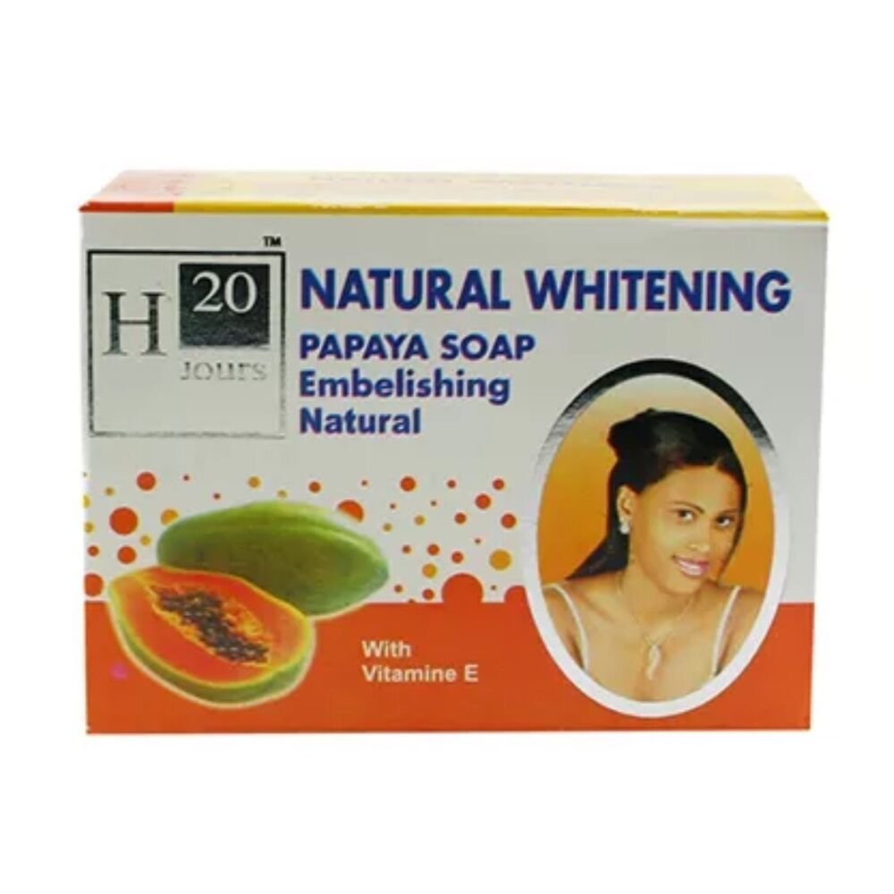 H20 Jours Natural Skin Lightening Papaya Soap 225g | eBay