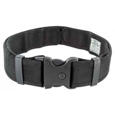 img-Highlander Security Belt Black - Quick Release Buckle Police Security Forces