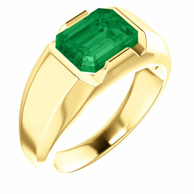 K Green Gold Ring