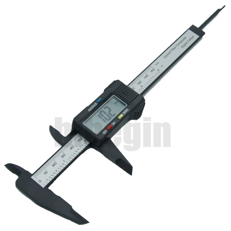 Electronic Measuring Devices Measure : Quot mm digital lcd vernier caliper gauge micrometer