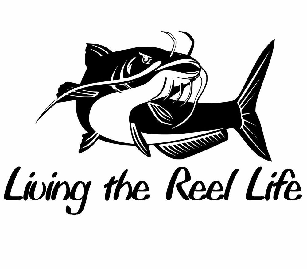 Cool fishing sticker vinyl funny decal fly trout fish for Fishing stickers and decals