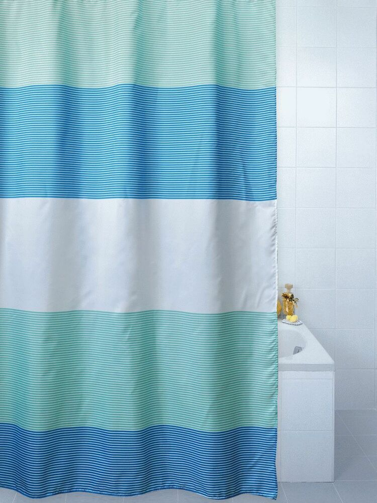Horizon Bold Stripe Polyester Shower Curtain 180CM X 200cm