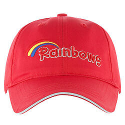 Kids OFFICIAL Rainbow Cap ( One Size Fits All - 100% Cotton New Baseball Cap