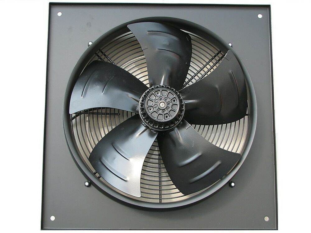 Extractor Fans Industrial : Industrial extractor fan mm inch v rpm ebay
