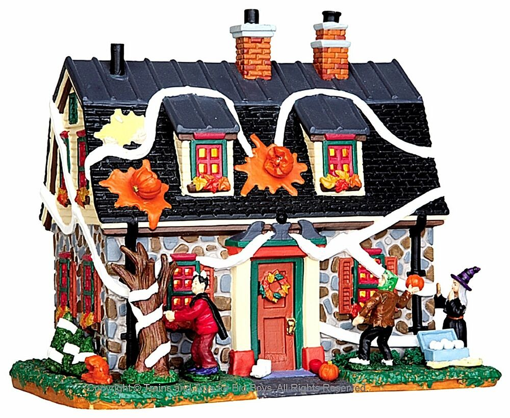 Lemax 45674 Tricked Out House Spooky Town Lighted Building