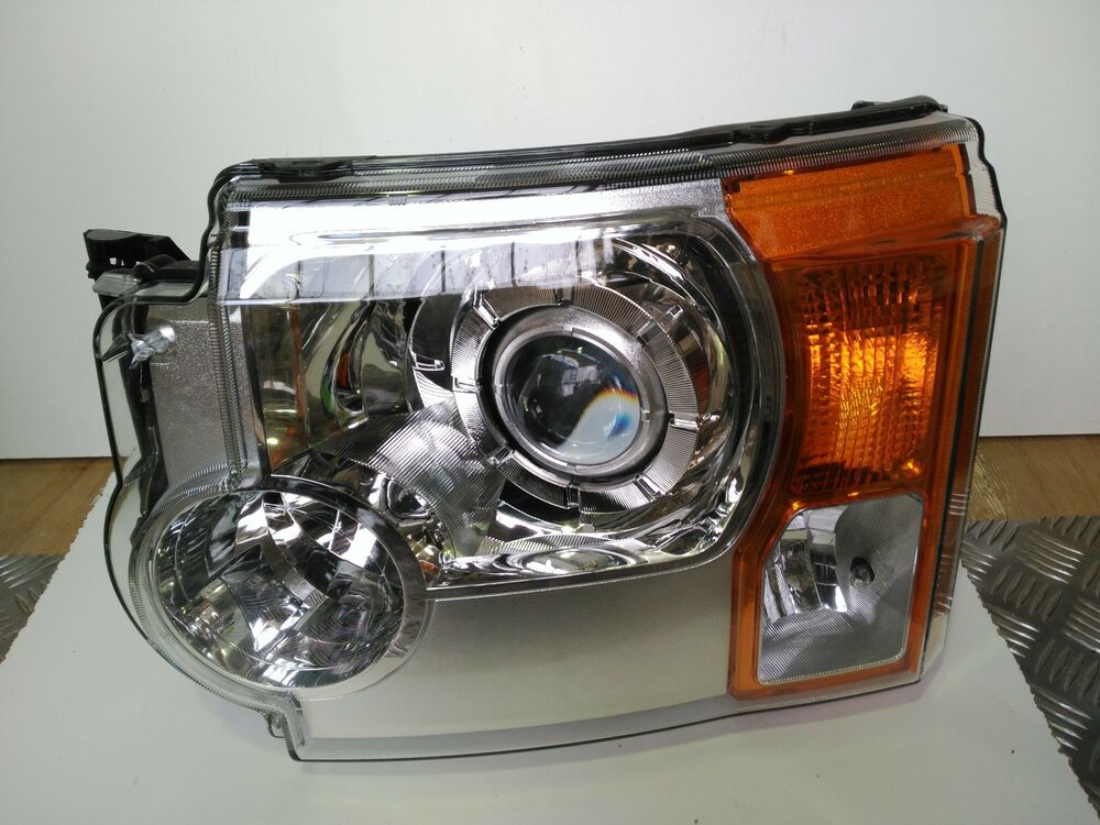 land rover discovery 3 passenger side xenon headlight. Black Bedroom Furniture Sets. Home Design Ideas