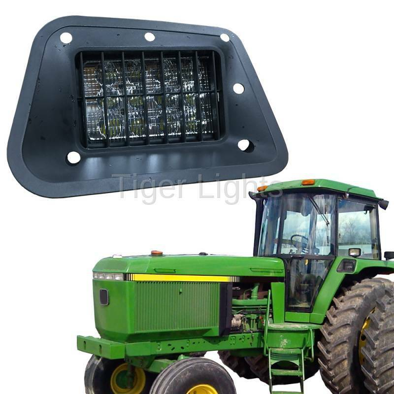 Led Lights Utility Tractor : Led tractor light hi low beam john deere ebay