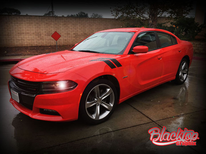 Details About Dodge Charger Hash Stripes 2017 2016 Srt Decal Pack Rt Sxt Hellcat