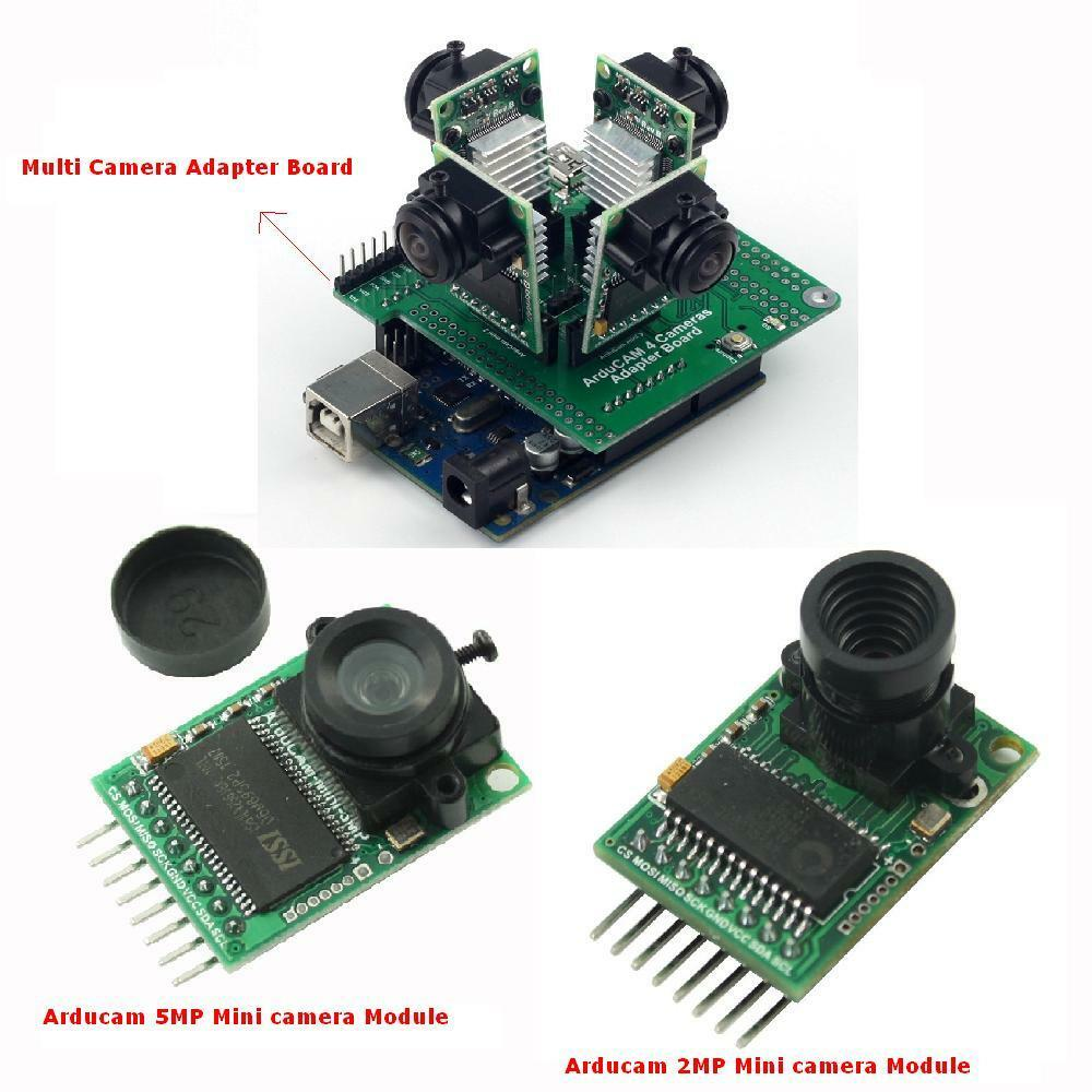 Arducam mp mini camera module multi adapter