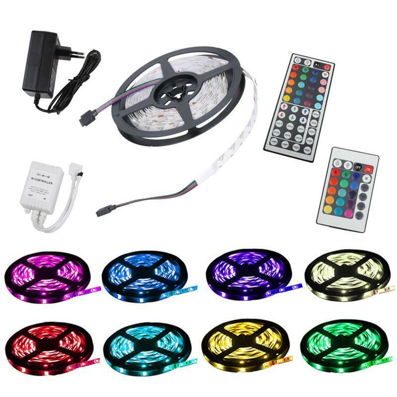 rgb led strip streifen ir controller fernbedienung steuerung netzteil trafo 12v ebay. Black Bedroom Furniture Sets. Home Design Ideas