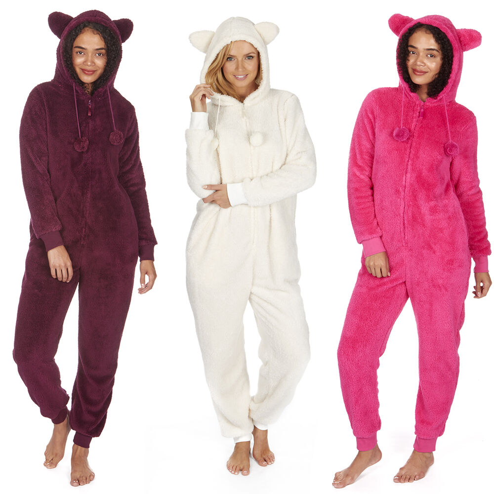 We know you secretly want a pair of footie pajamas. Who can resist a one-piece pajama set that is warm, comfortable and even covers feet? WebUndies has women's footie pajamas that even include hoods, so you're covered – from head to toe!