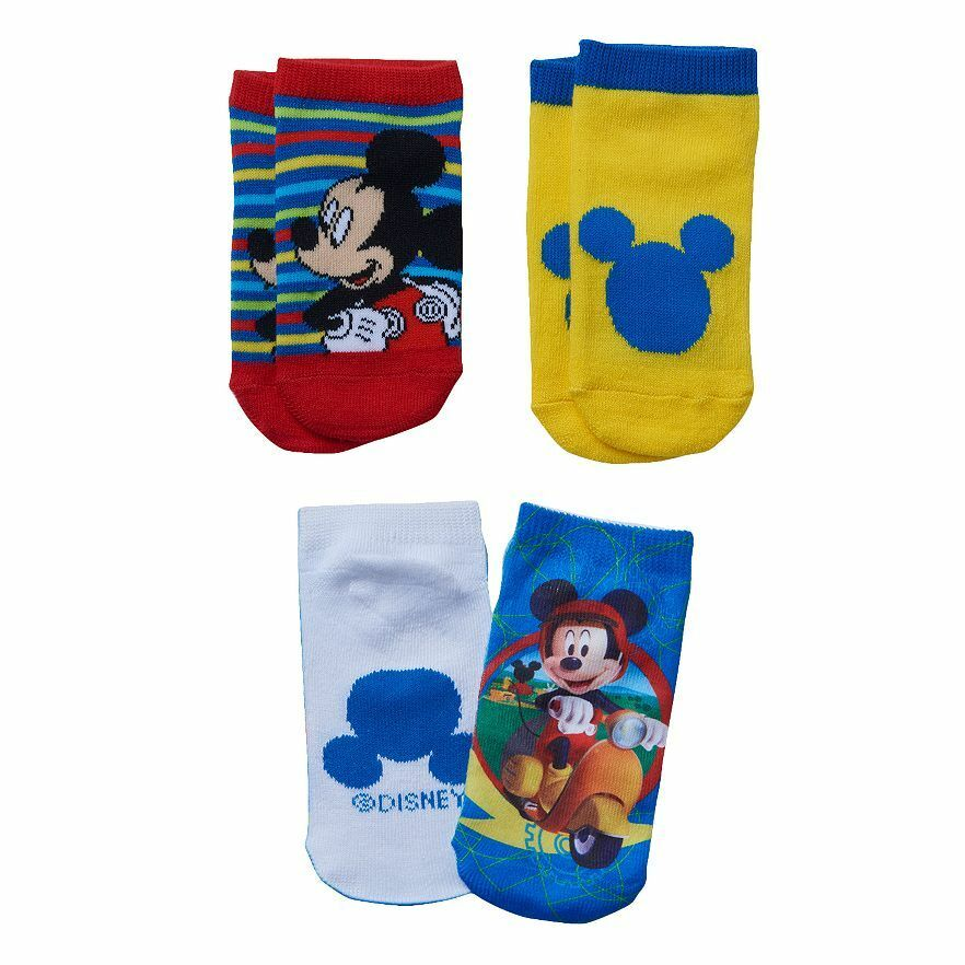 NEW Disney Socks Mickey Mouse Clubhouse Toddler Boys 3