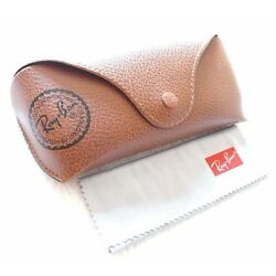 Kyпить  Ray ban Brand new leather case only Brown with cleaning cloth на еВаy.соm