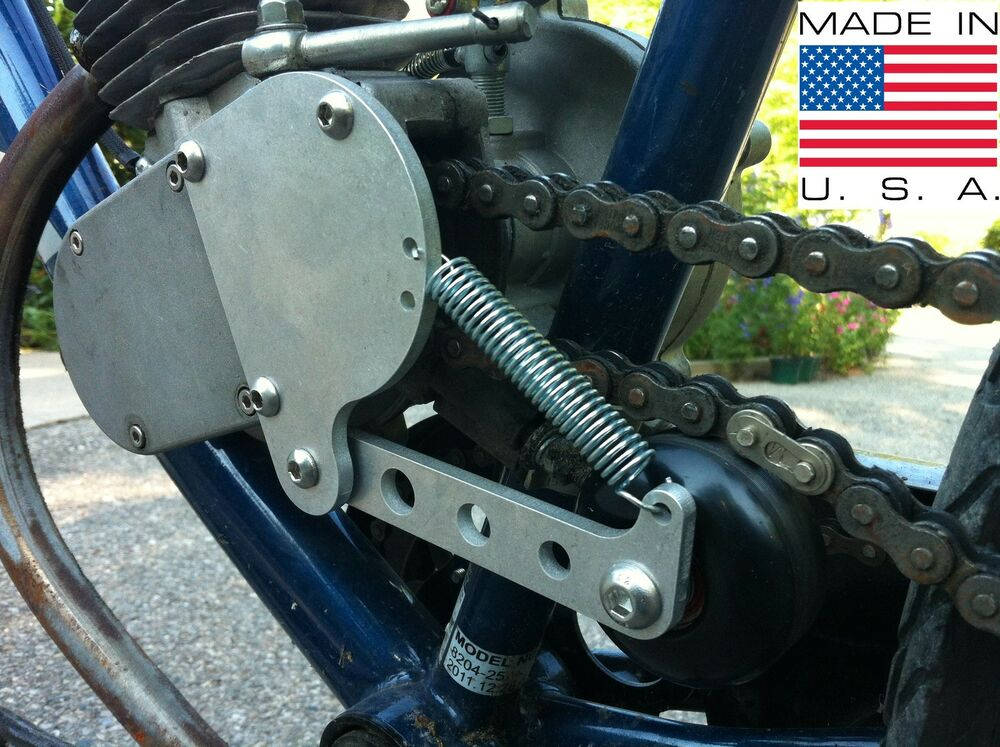Tractor Chain Tensioner : Cc motorized bike engine mounted chain tensioner