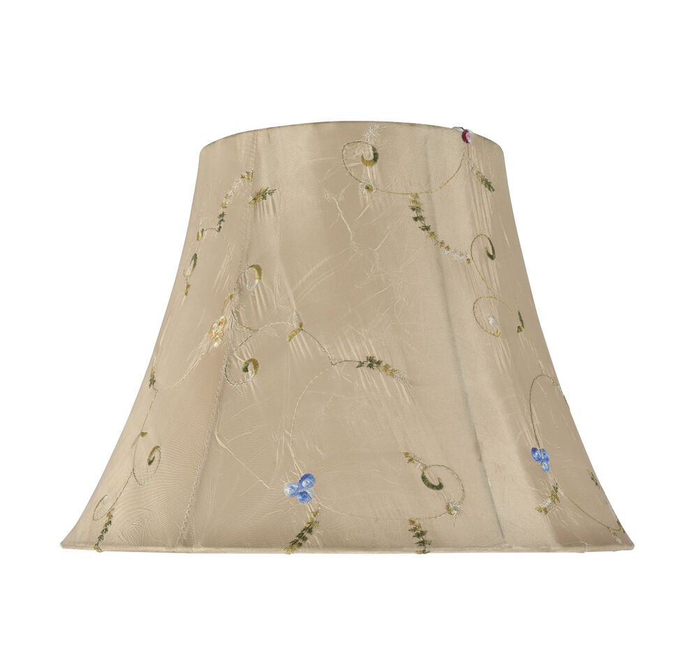 Aspen creative 30017 bell spider lamp shade gold 7 x13 x9 1 2 ebay - Creative lamp shades ...