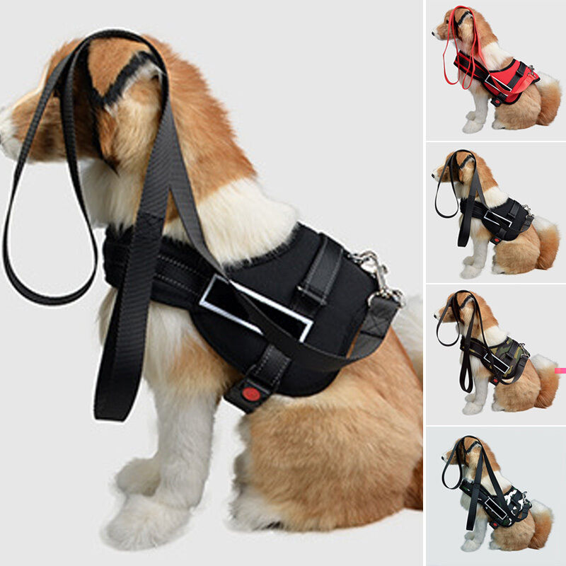 Heavy Duty Dog Pet Harness Padded Extra Big Large Medium