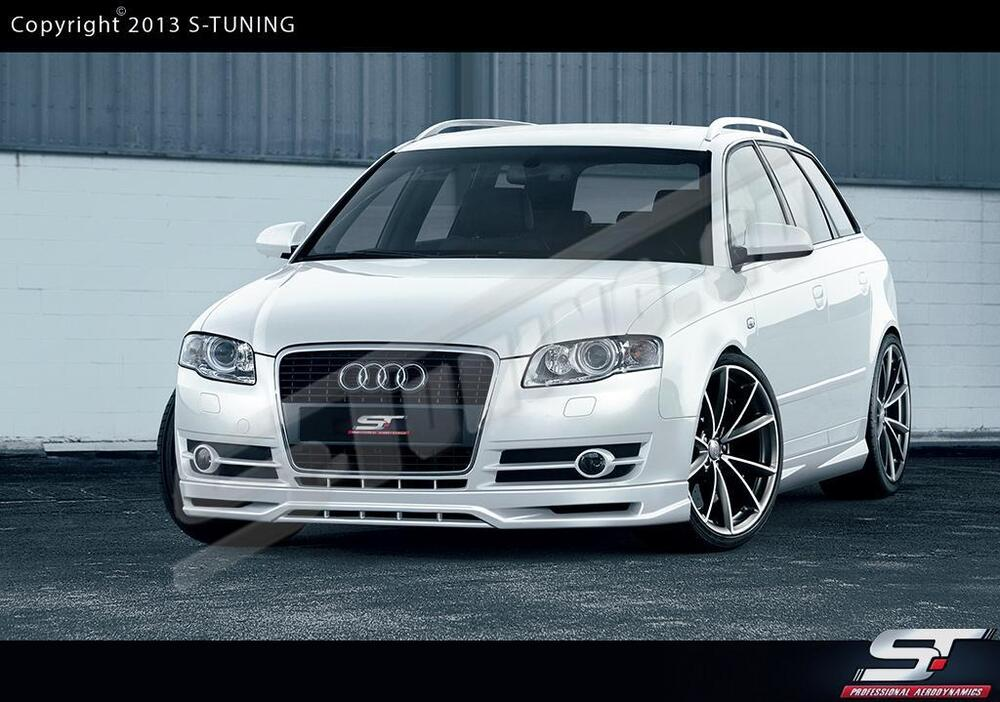 audi a4 b7 avant full body kit ebay. Black Bedroom Furniture Sets. Home Design Ideas