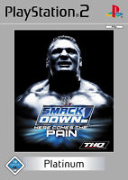 WWE SmackDown: Here Comes The Pain (Sony PlayStation 2, 2004, DVD-Box)