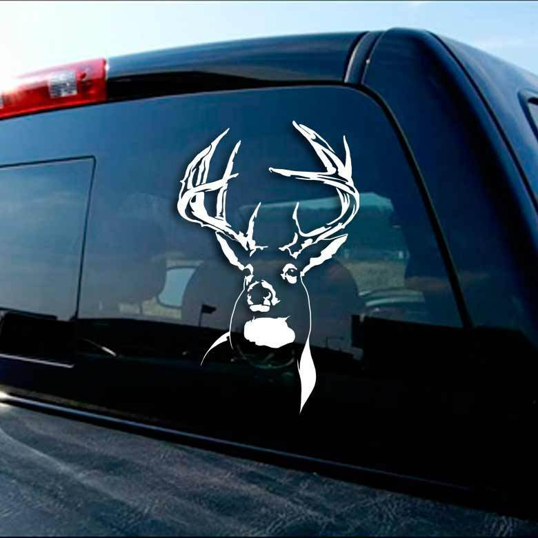 Ranch Buck Deer Sticker Archery Hunting Whitetail Decal