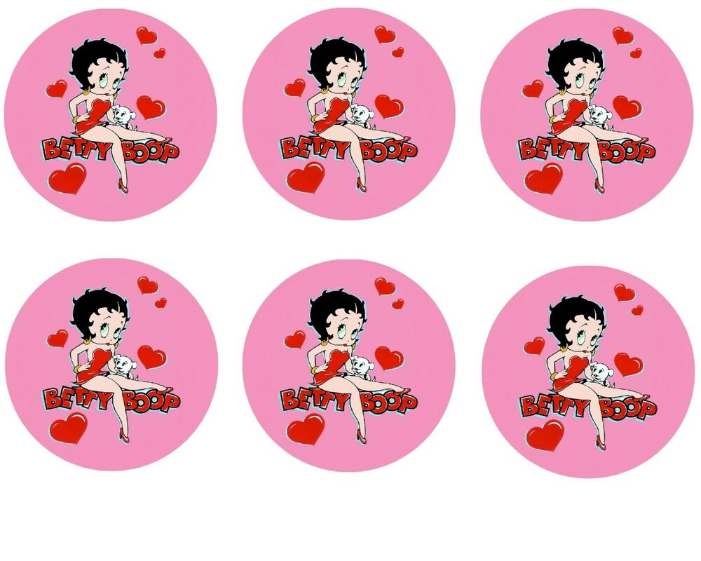 Betty Boop Edible Cake Toppers