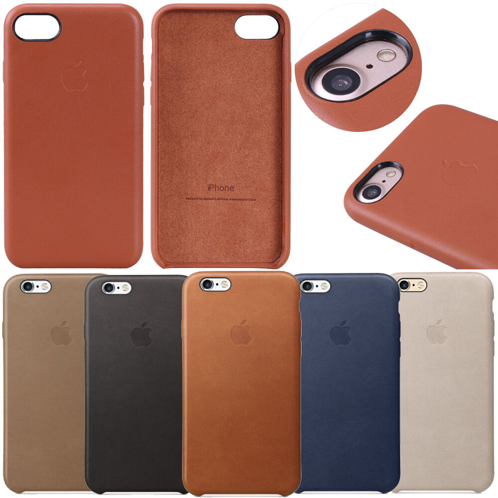 Luxury Genuine Original Leather Case Cover For Apple ...